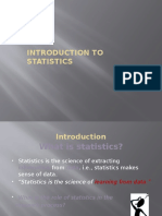 Intoduction to Statistics