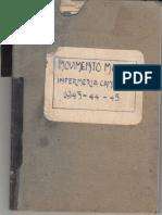 Movimento Malati - Infermeria Campo XXIV 1943-1945