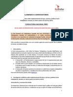 TdR - Consultor Nacional Implementación Normativa