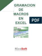 Curso de Programacion de Macros Para Excel