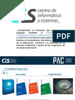 CIS Inducción - 1 Sesión scvsdcsdc