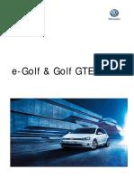 e Golf Golf Gtd 2016