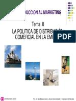La Politica de Distribuci La Politica de Distribución
