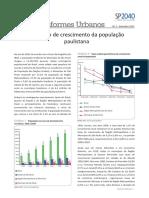 SMDU Informes 1 Crescimento Populacao