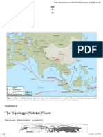 The Topology of Global Power - Policy Tensor