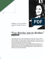 Cisneros Entrevista