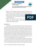 Pemrosesan Sinyal ( Fft, De-noised, Spektogram, Band Pass Filter Dan Bioakustik) Menggunakan Matlab)