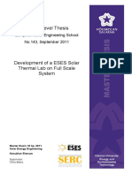report on solar PV/T