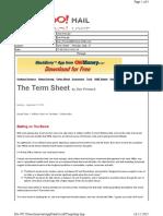 09-27-2010 Term Sheet - - Monday, Sept. 2721