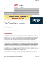 09-22-2010 the Term Sheet - - Wednesday, Sept. 2224