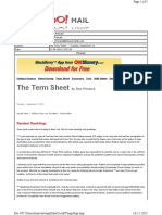 09-21-2010 the Term Sheet - - Tuesday, September 2125