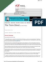 09-17-2010 the Term Sheet - - Friday, September 1727