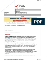 11-05-2010 Term Sheet -- Friday, November 544