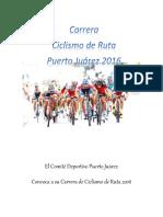 Convocatoria ciclismo 2016