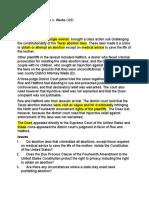 Case Digest 19 Roe case PFR
