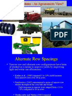 Planting Systems for Row Crops Staggenborg