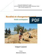 Ruralite Et Changement Social Au Maroc