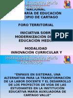 INICIATIVA MODERNIZACION DE LA EDUCACION MEDIA.ppt