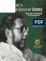 Repensar a Augusto Salazar Bondy