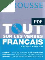 Larousse - Tout Sur Les Verbes Français