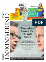 The Independent 21 February 2016