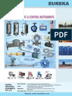 Eureka Flow Meter Product Catlogue