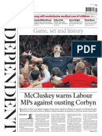 The Independent 30 November 2015