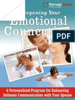 Deepening Your Emotional Connection
