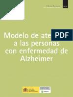Modelo de Atencion a Las Personas Con Enfermedad de Alzheimer