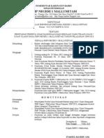 Penetapan Kelulusan UN/US Thn. 2010
