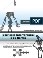 Corriente Interferencial y Rusa