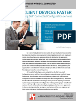 Speed up system deployment with Dell Connected Configuration services