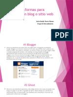 Plataformas Para Crear Un Sitio Web