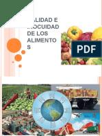 Tema 1. Calidad e Inocuidad de Los Alimentos