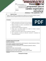 Descripción de Cargo Anal O y S I,II,III,IV