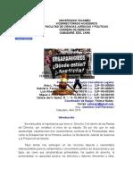 Derecho Civil Personas i. Analisis Temas 10,11,12. Corte IV