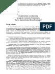 Relatywizm ewolucyjny w ujęciu Gonzalo Munévara. Zarys stanowiska filozoficznego