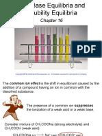 Chapter 16 Acid and Base Equi