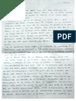 Fariña comprometió al socio de Máximo Kirchner con un manuscrito