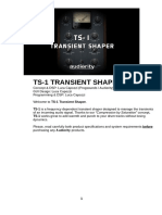 Audiority TS1 TransientShaper Manual