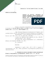 Acórdão TST - Incompetência e Cabimento de RO