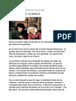 El Origen de La Banca ( Antonio Espín)