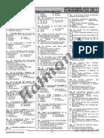 Examen de Admisión Dirimencia 2011
