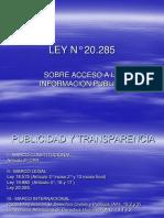 Ley Transparencia 2010