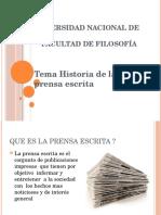 Historia de La Prensa Escrita Paraguay