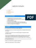 RSI app Evaluation Plan
