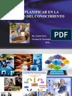 Planificar en La Sociedad Del Conocimiento 2016