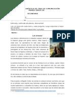 Evaluación diagnóstica COMUNICACIÓN - 1° GRADO