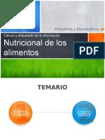 Cálculo y Etiquetado de La Información de Los Alimentos