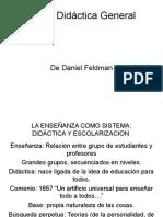 Sobre Didáctica de Feldman